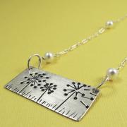 3 Dandelion Necklace