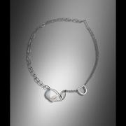 grey cloud necklace