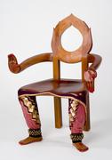 Bharatanatyam Dancer Chair