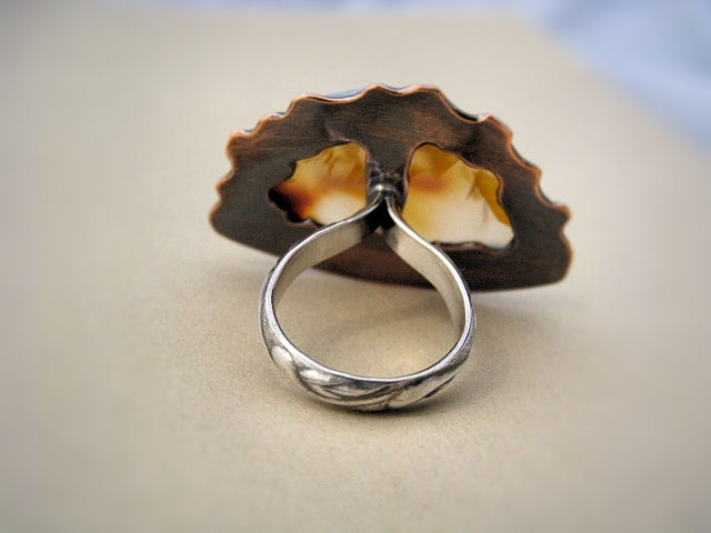 Large Carnelian Ring
