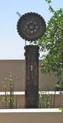 Cosmic timepiece bee nest sculpture