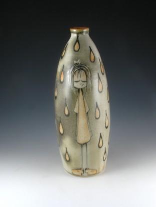 Girl In the Rain Bottle