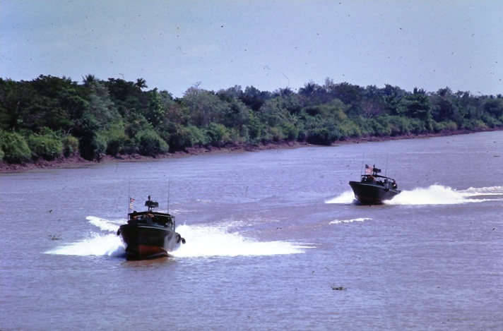 PBR patrol on Saigon River