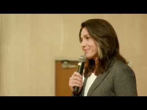 Tulsi Gabbard Speaks to Standing Room Only Crowd at University of San Francisco