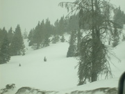 Yes, we drove through the Rockies in a snow storm.
