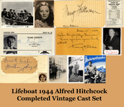 Hitchcocks's 1944 LIFEBOAT Vintage Cast Collection