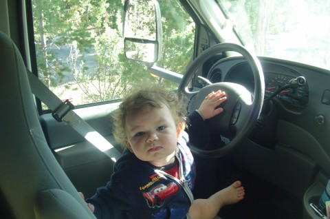 Who gave the 1-year-old the keys?