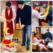 Sandeep Marwah Invited by Siddhashram Shakti Centre