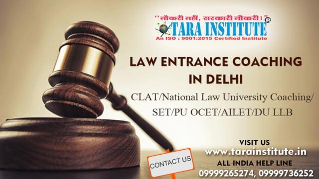 Law Entrance Coaching in Delhi