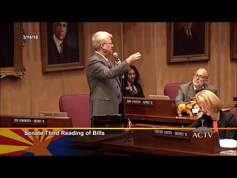 Senator Eddie Farnsworth on Charter Schools (SB 1394)