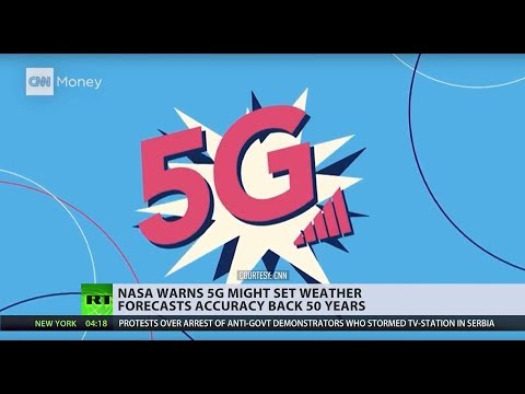 NASA is concerned over 5G potentially setting back weather forecast accuracy back 50 years