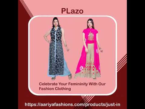 The Latest Clothes Styles - Ethnic Wears