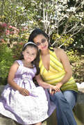 Karina and Me Easter 2 4-4-09