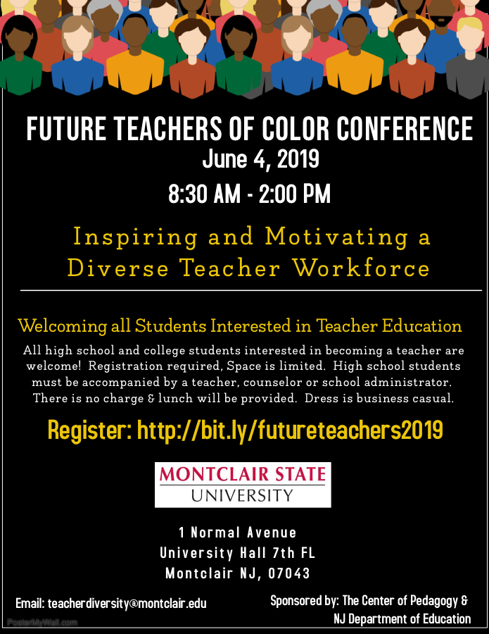 Future Teachers of Color Conference - June 4, 2019 - Montclair State