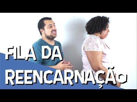 FILA DA REENCARNAÇÃO - ESPIRITISMO E HUMOR