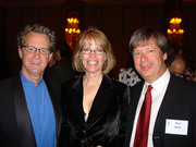 Dave Barry, Ridley Pearson and Robin Burcell at the Edgars 2007
