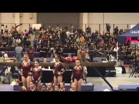 HOUSTON NATIONAL INVITATIONAL 2019 LEVEL6 BALANCE BEAM CARO