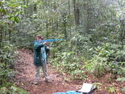 Me on an Earthwatch Project in Atherton, Australia