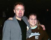 Mark Millar with Shannon