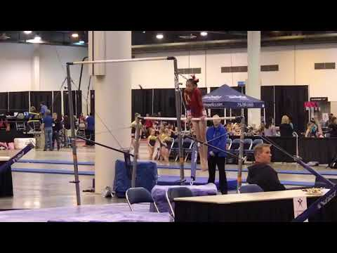 HOUSTON NATIONAL INVITATIONAL 2019 LEVEL1 UNEVEN BARS MIRTA