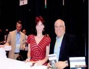 Book Expo America Signing next to Marilou Henner