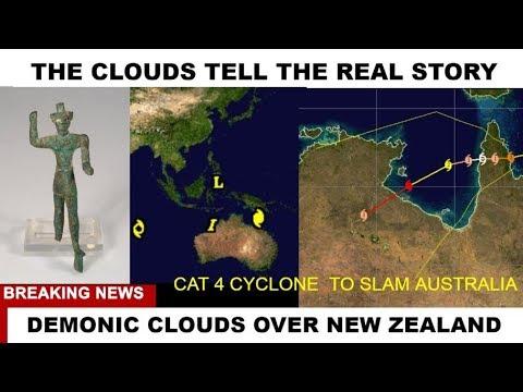 CAT 4 AUSTRALIA NEW ZEALAND CLOUDS TELL REAL STORY   #WEATHER WARFARE LIVE!! #ANALYSIS