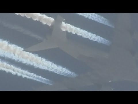 Lufthansa Laying Out Another Toxic Chemtrail For Climate Engineering Programs