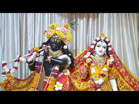 Sringar Darshan || Sri Sri Rukmini Dwarkadhish || ISKCON Amravati || Date 19/March/2019
