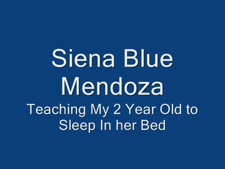 SIENA BLUE - Teaching Her To Sleep (July 2008)