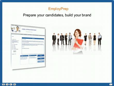 EmployPrep - Prepare your candidates, build your brand