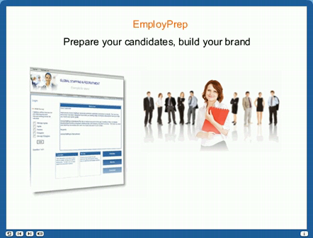 EmployPrep - Prepare your candidates, build your brand