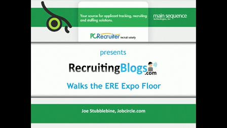 Joe Stubblebine at ERE Expo