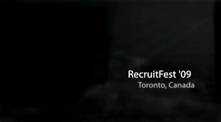 My RecruitFest '09 Video