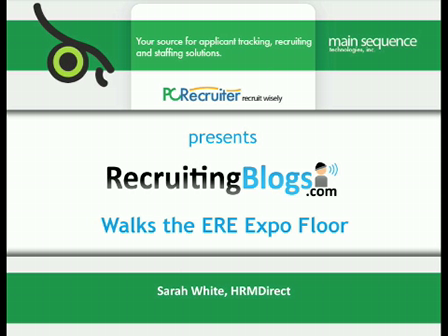Interview with Sarah White from HRM Direct