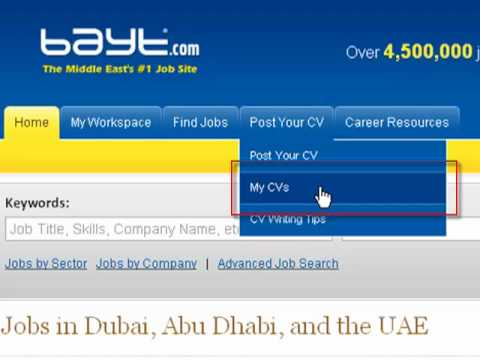 How to Find and Apply to Jobs on Bayt.com