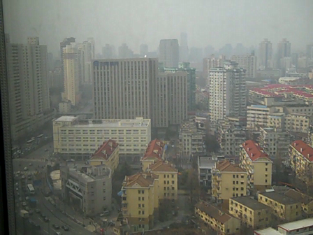 High above Shanghai