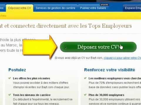 Comment Rédiger votre CV sur Bayt.com