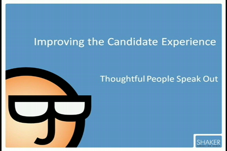 Wheeler on Improving the Candidate Experience