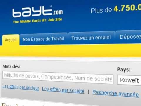 Comment Trouver et Postuler à des Emplois sur Bayt.com