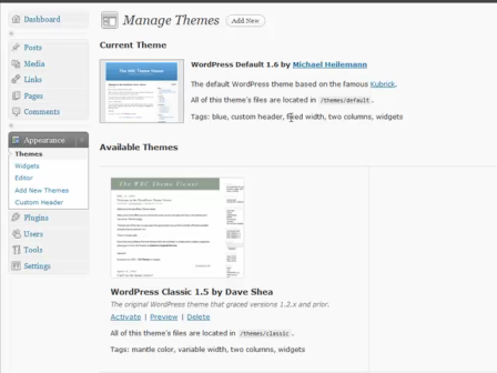 WordPress for Blogging Part 2: add a theme