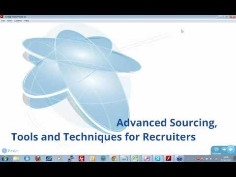 Advanced Sourcing for Recruiters