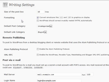 WordPress for Blogging Part 23: WordPress Writings and Settings