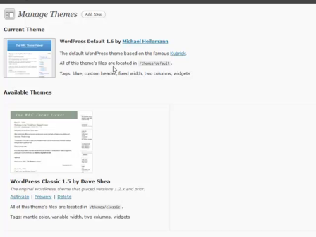 WordPress for Blogging Part 19: WordPress Themes