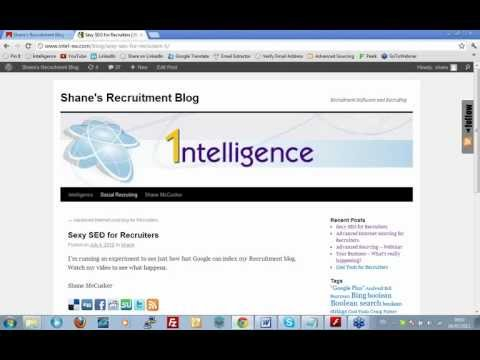 Sexy SEO for Recruiters