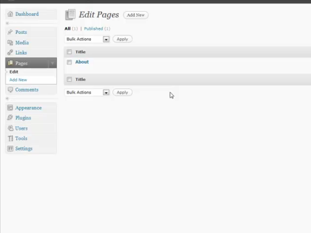 WordPress for Blogging Part 13: Pages