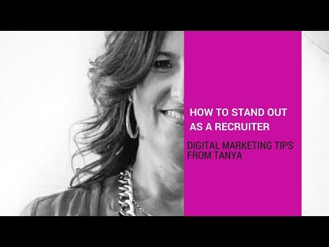 How to stand out as a recruiter