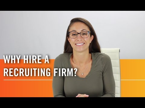 Why Employers Are Turning To Recruitment Firms | Hiring Manager Tips