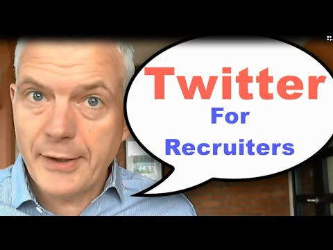 Recruit with Twitter