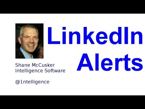 Intelligence Recruiter Alerts