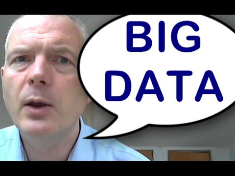 Big Data - What it is and why you can ignore it.